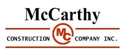 McCarthy Construction